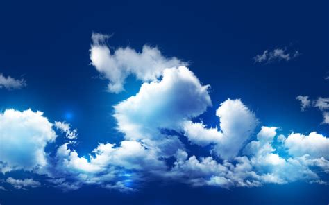 Wallpaper Blue Sky Clouds | blue sky clouds wallpaper