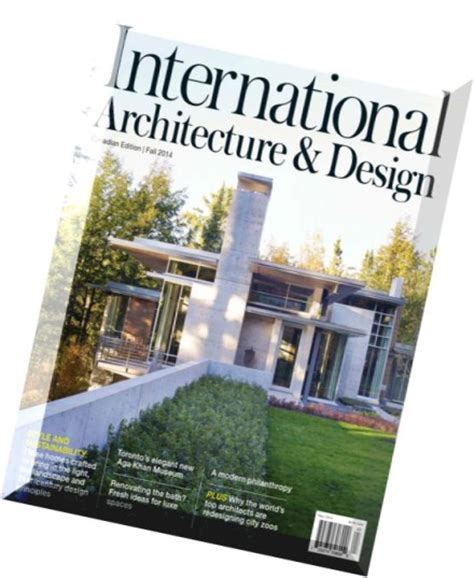 architectural designs magazine download international architecture design magazine fall