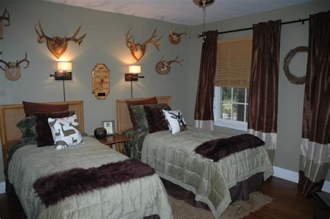 hunting bedroom ideas boys guest room hunting style eclectic bedding new