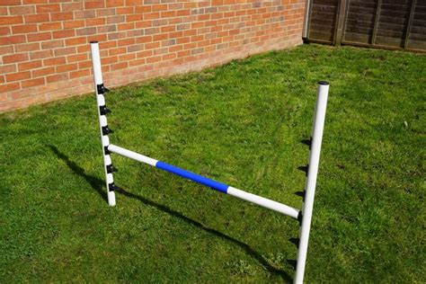 agility jumps 4 x agility jumps set for small dogs heights uk manufactured