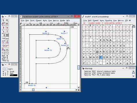 Font Design Software Windows | fontforge portable portableapps com portable software