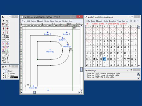 font editor fontforge portable portableapps com portable software