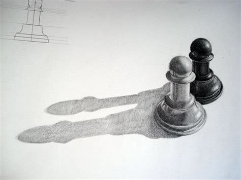 black and white pencil drawings my grinning mind pencil chess pawns