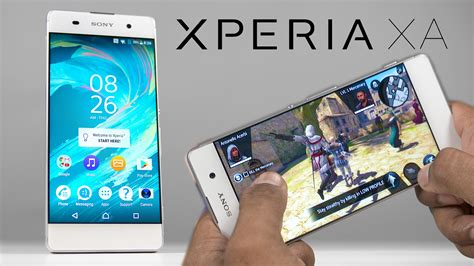 w xã sony xperia xa gaming review w benchmarks temp check