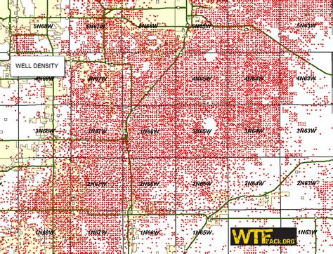 colorado and gas map wtfrack org bakken shale drilling activity 2010 timelapse