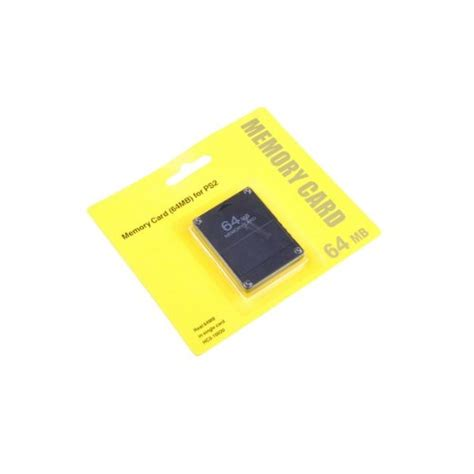 Sandisk Ps2 64 mb memory card for ps2 playstation 2 64mb 64m in the