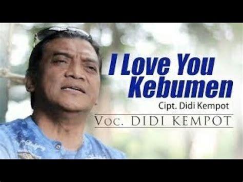 download mp3 didi kempot entenono didi kempot i love you kebumen free mp3 download stafaband