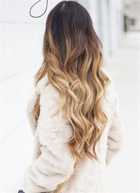 dip dye hairstyles brown and blonde 22 full head clip in dip dye ombre hair by cutiechocolate