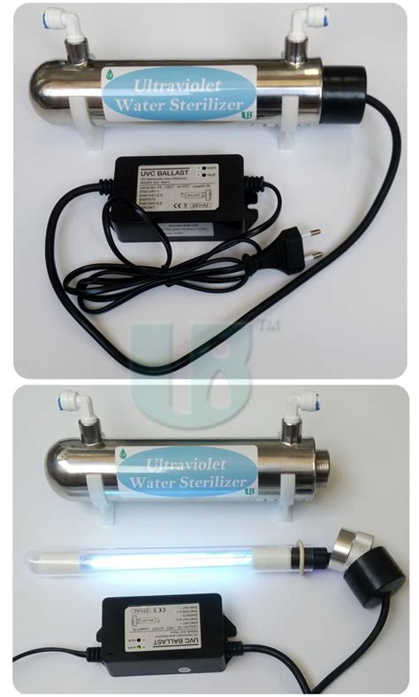 ultraviolet light for water systems filter water systems with ultraviolet germicidal ls 16w