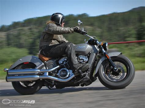 2015 Indian Scout First Ride   MotoUSA   YouTube