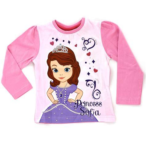 Blouse Cotton T Sum2 Disney disney princess sofia 100 cotton sleeve t shirt
