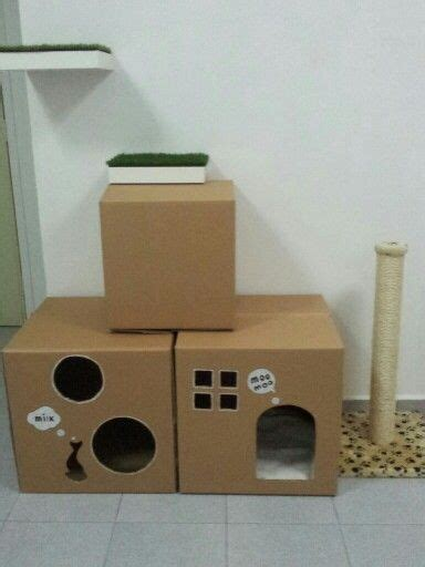 cardboard house for cats 25 best ideas about cardboard cat house on pinterest house of cat cat playhouse