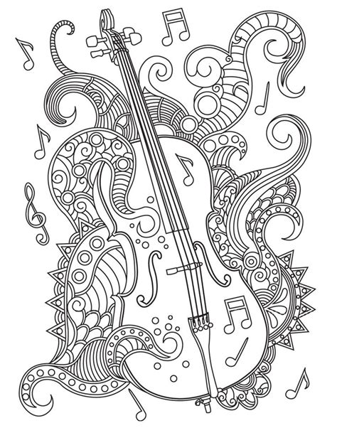 music mandala coloring pages 313 best images about music coloring pages for adults on