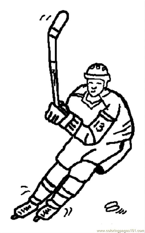 olympic hockey coloring pages winter olympics sports coloring pages