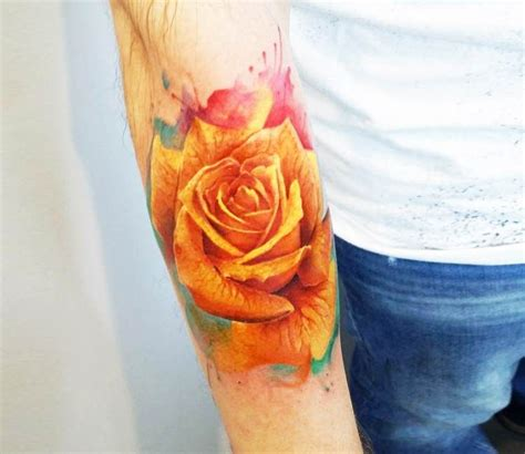 yellow rose tattoo shop yellow by adrian ciercoles best tattoos
