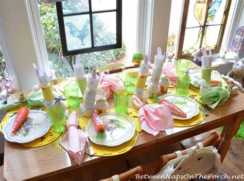 Day 6 Table Settings As by Easter Table Setting For Children