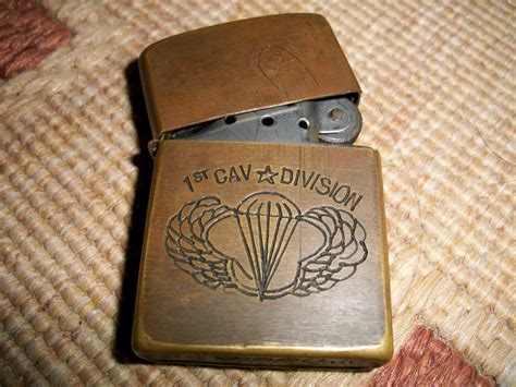 zippo vintage collectible items vintage 1st cavalry division