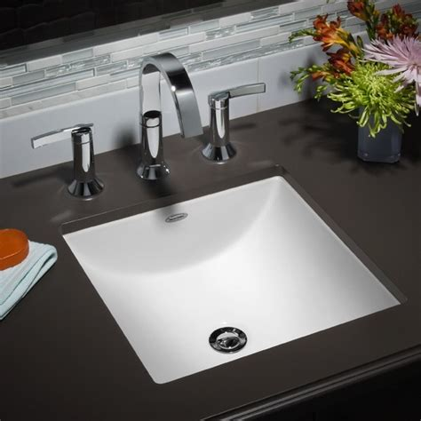american standard undermount bathroom sinks american standard studio 0426 000 contemporary
