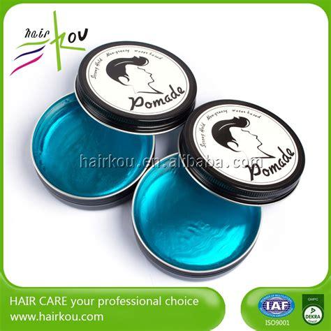 Jual Pomade Edge Wax organic label water based pomade wax plastic jar hair edge buy wax hair pomade