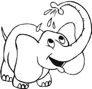 orejas de elefante para colorear elefante para colorear