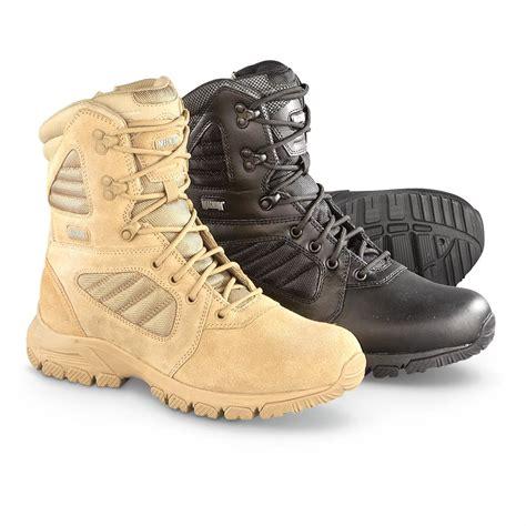 magnum s boots magnum response iii side zip tactical boots 618175