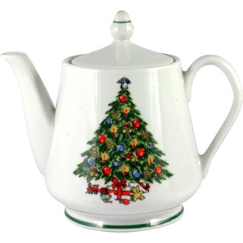 vintage christmas china
