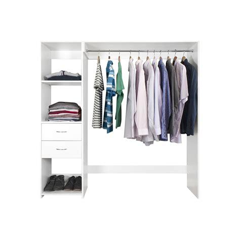 Bunnings Wardrobe Storage by Kitko 1650mm Wardrobe Shelves And Drawers Kit Bunnings