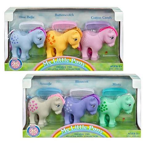Mio 1set my pony 25th anniversary 3 packs wave 1 set