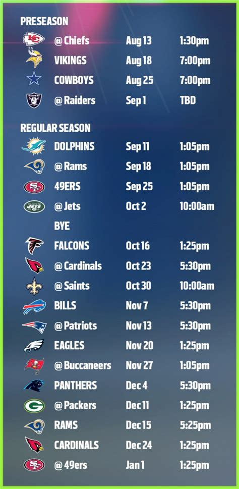 2015 seahawks printable schedule google search printable seahawks schedule 2015 2016 printable seahawks