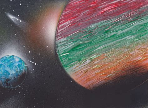 spray paint planets spray paint two planets by tibigrecu on deviantart