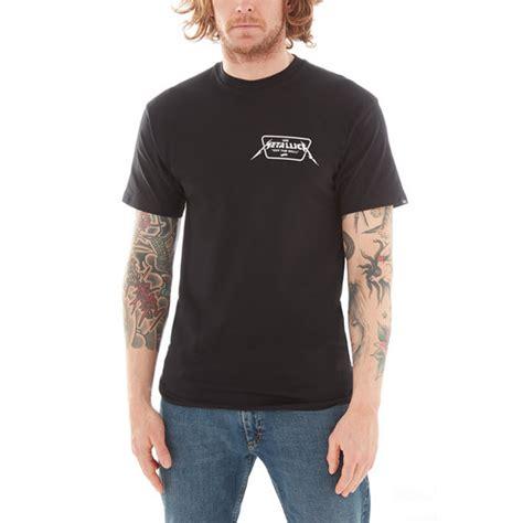 metallica x vans vans x metallica t shirt schwarz vans