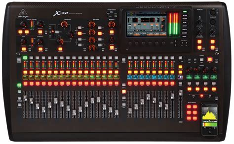 Behringer 16 Channel Digital Mixer behringer x32 digital mixer 32 channel 16 total