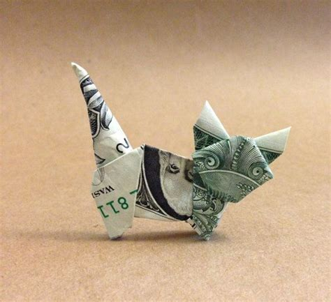 Dollar Origami Cat - best 25 money origami ideas on folding money