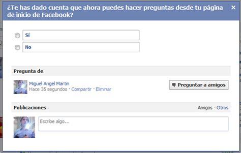 yahoo preguntas en espanol el blog de mam facebook preguntas en espa 241 ol