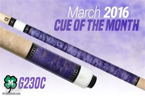 Mcdermott Cue Giveaway - mcdermott announces free cue giveaway for march 2016 news azbilliards com
