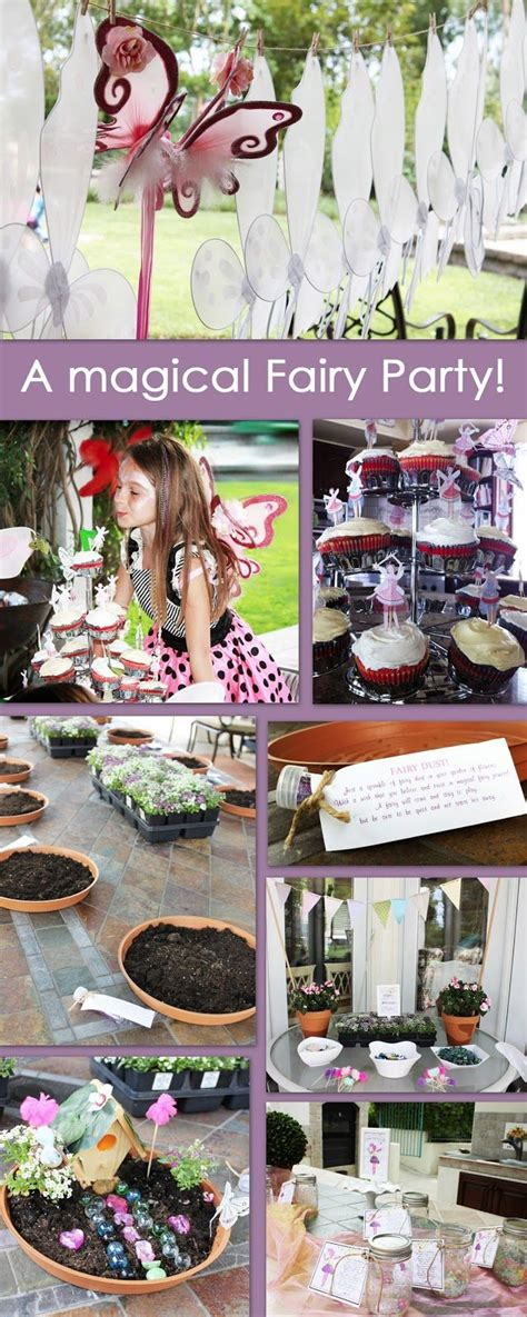 quirky themes party creatively quirky at home emelias magical fairy garden