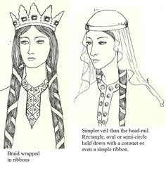anglo saxons hair stiels 1000 images about 1100 on pinterest 12th century