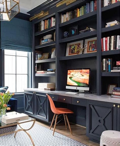 home library office valspar paint kitchen cabinets a home office like this would definitely make work days