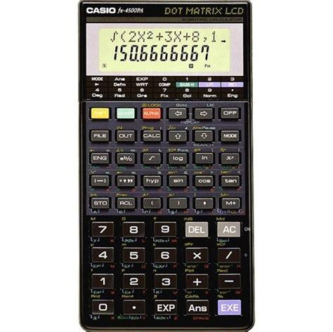 Kalkulator Casio Fx4500 casio v茆deck 225 kalkula芻ka fx 4500 p 242 funkc 237 fx 4500 p
