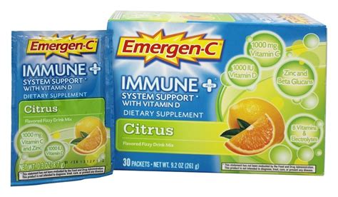 emergen c carbohydrates buy alacer emergen c immune plus system support with