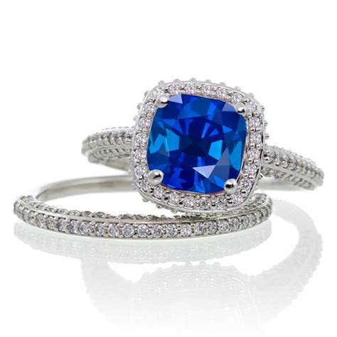 wedding rings sapphire wedding sets cheap bridal jewelry