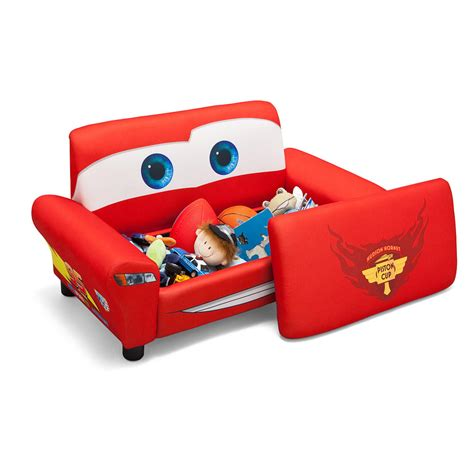 disney pixar cars sofa with storage delta toys quot r quot us