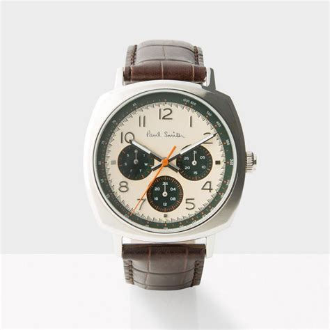 paul smith s gold and brown atomic p10042