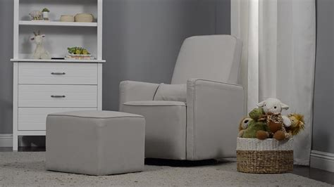 davinci olive upholstered swivel glider with ottoman davinci olive upholstered swivel glider with ottoman in