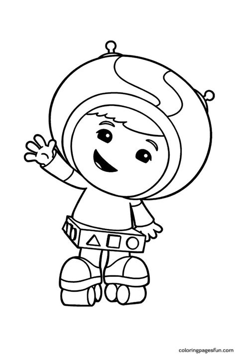 umizoomi bot coloring page 15 best coloring and activity sheets images on pinterest