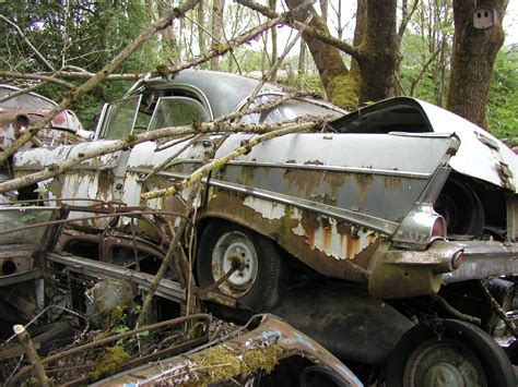car salvage yards history  time junk yard