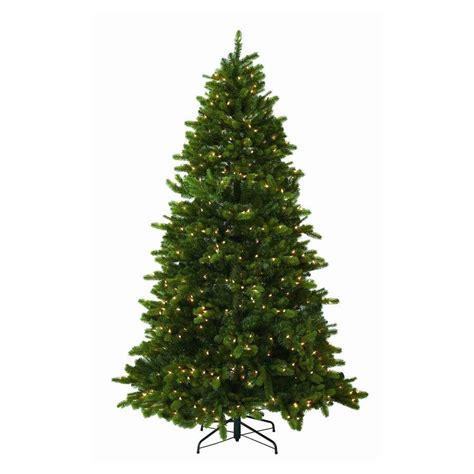 shop westinghouse 7 5 spruce artificial christmas tree