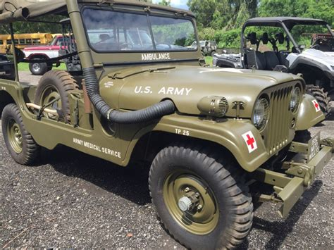 acrylic painting of jeep 1952 willys jeep m 170 ambulance jeep for sale