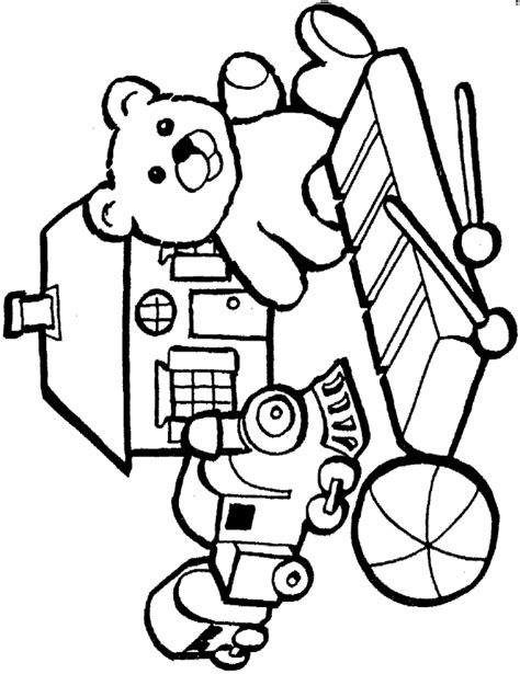 kids n fun com coloring page toys toys