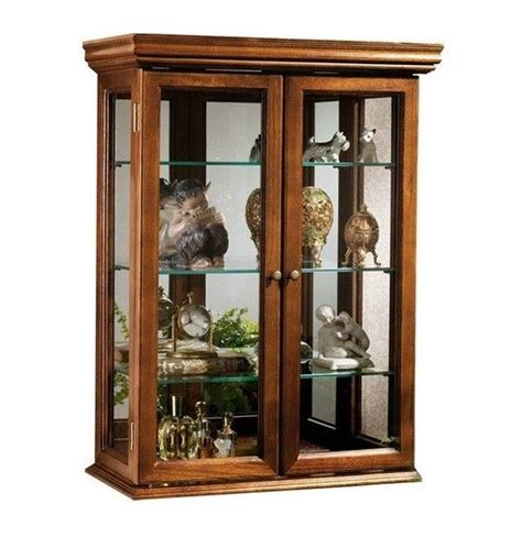 Kitchen Wall Display Cabinets Wall Cabinet Curio Shelves Rack Glass Wood Kitchen Storage Display Kitchen Ebay